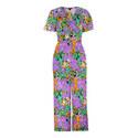 Simone Floral Print Jumpsuit, ${color}