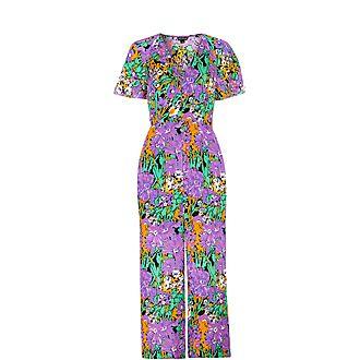 Simone Floral Print Jumpsuit