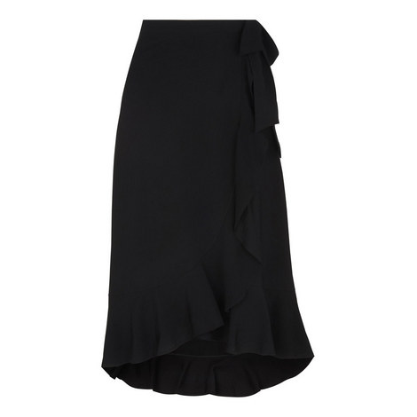 Mei Frill Wrap Skirt, ${color}