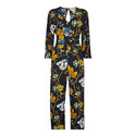 Scarf Print Jumpsuit, ${color}