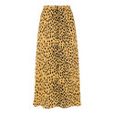 Animal Print Midi Skirt, ${color}