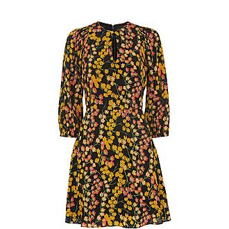Daisy Print Ester Dress