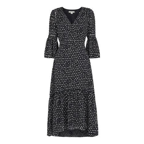 Advika Spot Midi Dress, ${color}