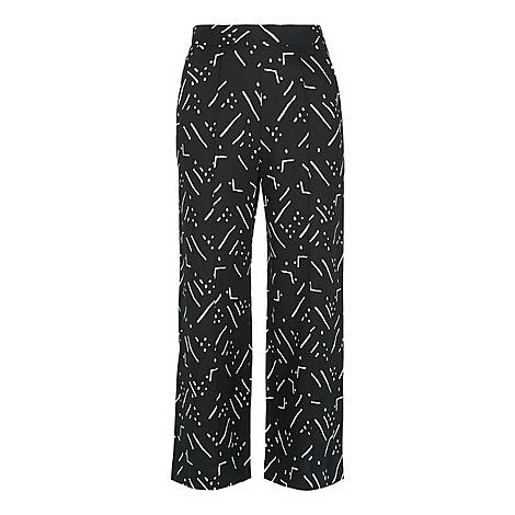 Kuba Printed Trousers, ${color}