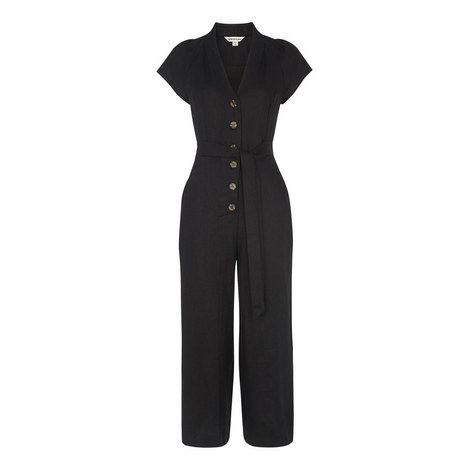 Sana Linen Button Jumpsuit, ${color}