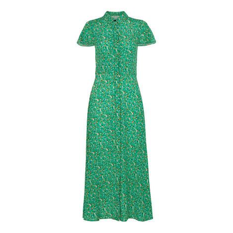 Ditzy Blossom Shirt Dress, ${color}