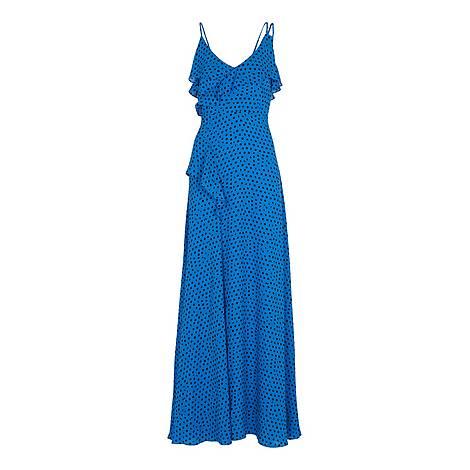 Lunar Spot Maxi Dress, ${color}