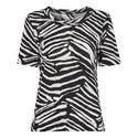 Zebra Print Rosa T-shirt, ${color}