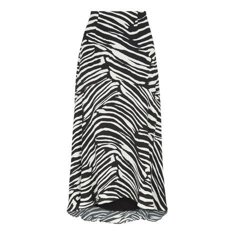 Zebra Print Skirt, ${color}