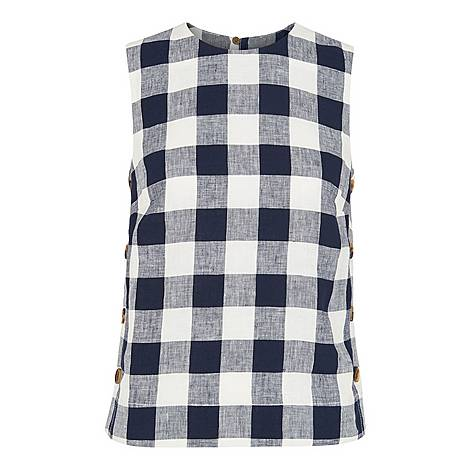 Gingham Shell Top, ${color}