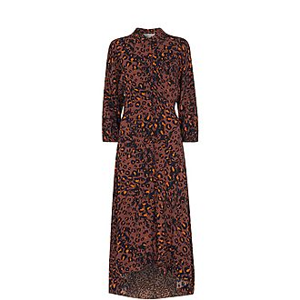 Amara Brushed Leopard Dress