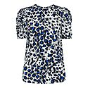 Brushed Leopard Print Shell Top, ${color}