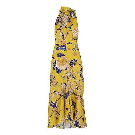 Peria Exotic Floral Dress, ${color}