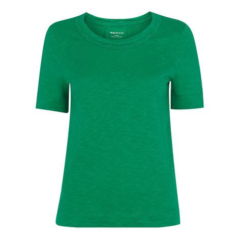 Rose Double Trim T-Shirt, ${color}