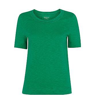 Rose Double Trim T-Shirt
