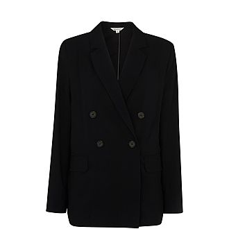Double-Breasted Relax Blazer