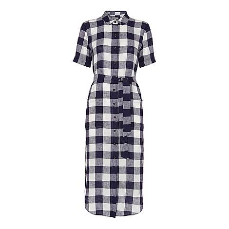 Gingham Montana Dress, ${color}