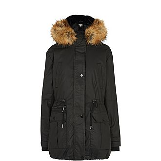 Willow Waxy Parka Jacket