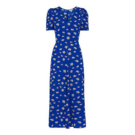 Scattered Daisy Midi Dress, ${color}