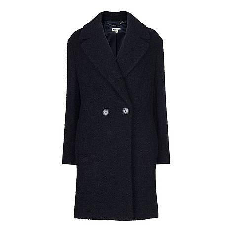 Boucle Double-Breasted Coat, ${color}