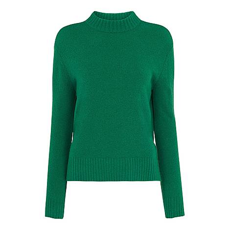 Ribbed Neck Knit, ${color}