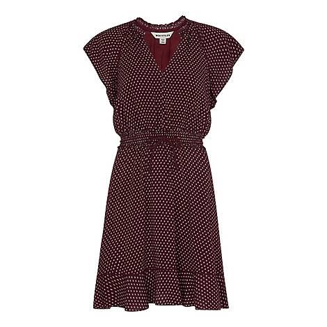 Jazmin Spot Dress, ${color}