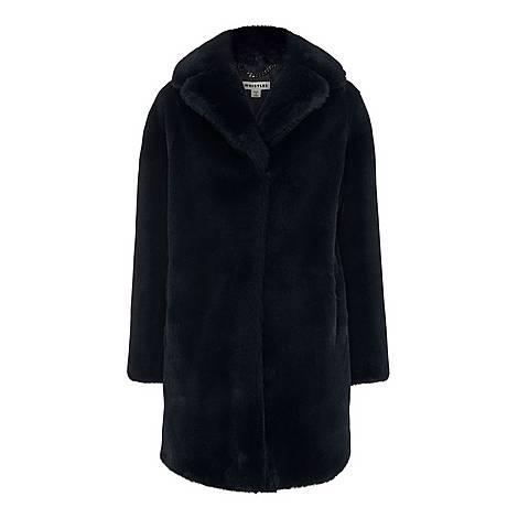 Frankie Faux Fur Coat, ${color}