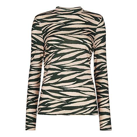 Tiger Stripe Essential Top, ${color}