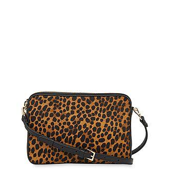 Cami Leopard Crossbody Bag