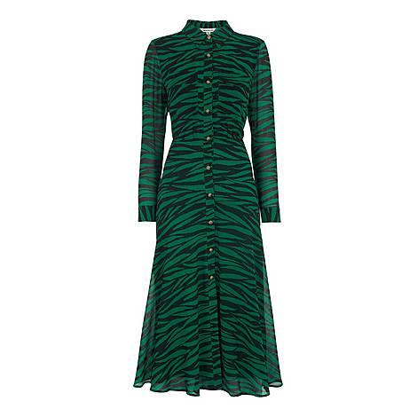 Carys Tiger Print Dress, ${color}