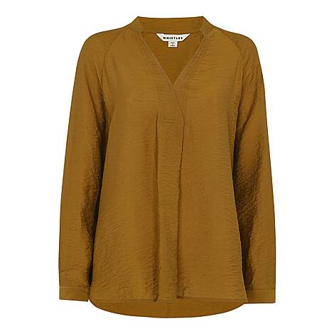 Dylan Long Sleeve Blouse, ${color}