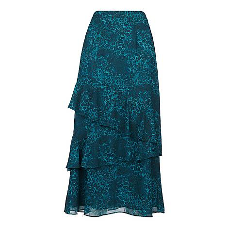 Big Cat Tiered Skirt, ${color}