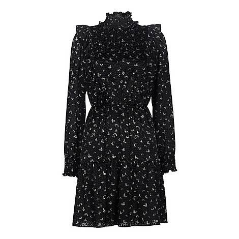 Burnout Ruffle Dress, ${color}