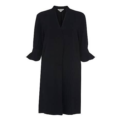 Sonia Frill Cuff Dress, ${color}