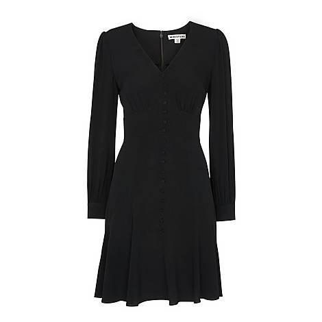 Short Button Through Dress, ${color}