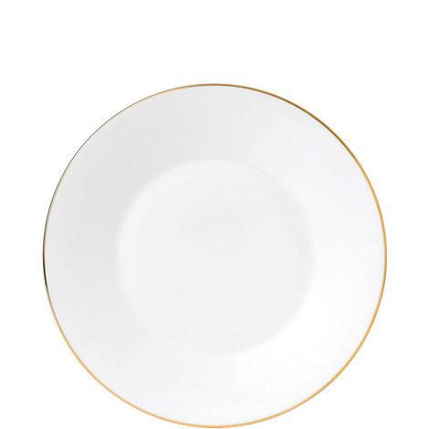 Jasper Conran Gold Tipped Plate 23cm, ${color}