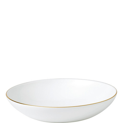 Gold Tipped Pasta Bowl 25cm, ${color}