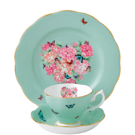 Miranda Kerr Blessings Plate, Teacup and Saucer, ${color}