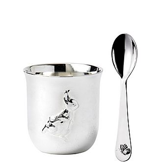 Peter Rabbit Egg Cup and Spoon