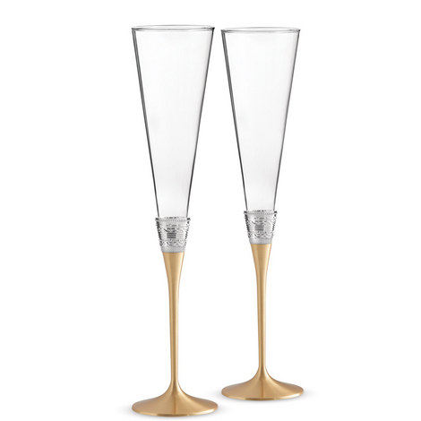 Vera Wang With Love Toasting Flute Set of Two, ${color}