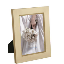 Vera Wang Satin Medium Photo Frame