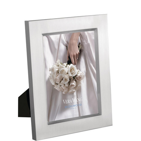 Vera Wang Satin Medium Photo Frame, ${color}