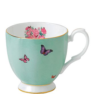Miranda Kerr Blessings Footed Vintage Mug