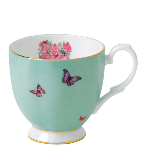 Miranda Kerr Blessings Footed Vintage Mug, ${color}