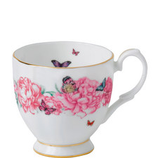 Miranda Kerr Gratitude Footed Vintage Mug