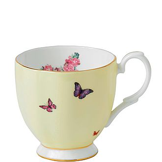 Miranda Kerr Joy Footed Vintage Mug