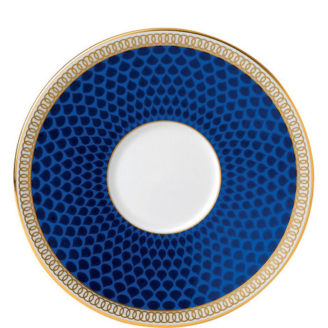 Hibiscus Accent Espresso Saucer, ${color}