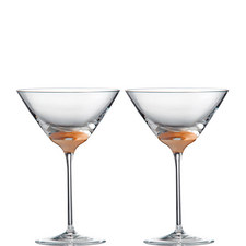 2 Arris Martini Glasses