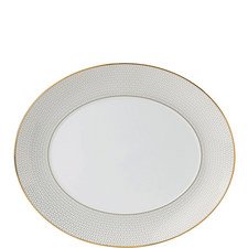 Arris Oval Serving Platter 33cm