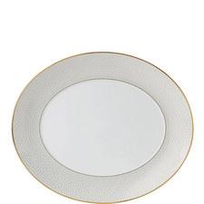 Arris Oval Serving Platter 33cm